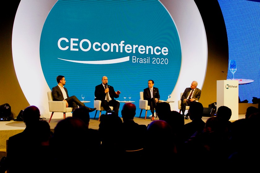 Governador participa do CEO Conference Brasil 2020