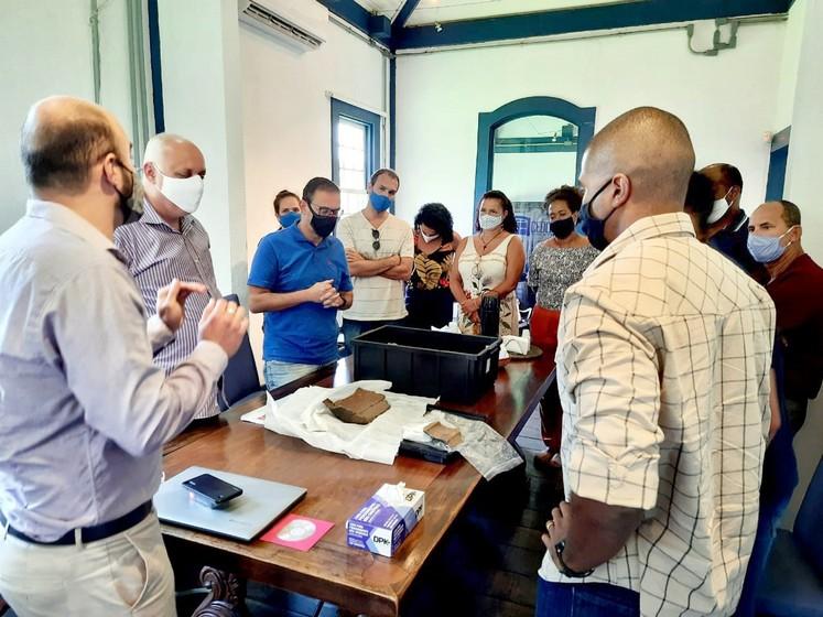 Fundação Cultura Barra Mansa recebe representantes da Prefeitura de Búzios para apresentar Centro de Documentação e Memória Fazenda da Posse