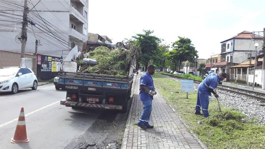 Saae de Barra Mansa intensifica serviços de limpeza, recolhimento de resíduos e sanitização