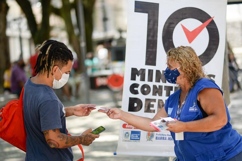 Prefeitura de Barra Mansa promove campanha de conscientização sobre a dengue