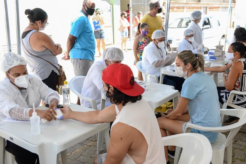 Covid-19: Barra Mansa oferece testagem no bairro Nova Esperança