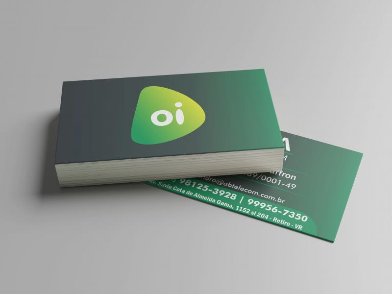 Cartão de Visita - Papel DuoDesign 300g/m2 - 4/4