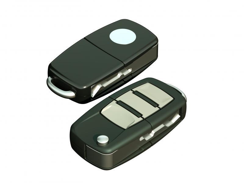 01 Chave de Carro c/ chip codificada